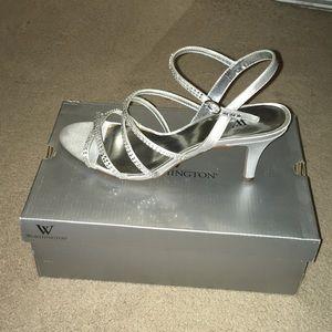 Women's size 10 satin dress heels